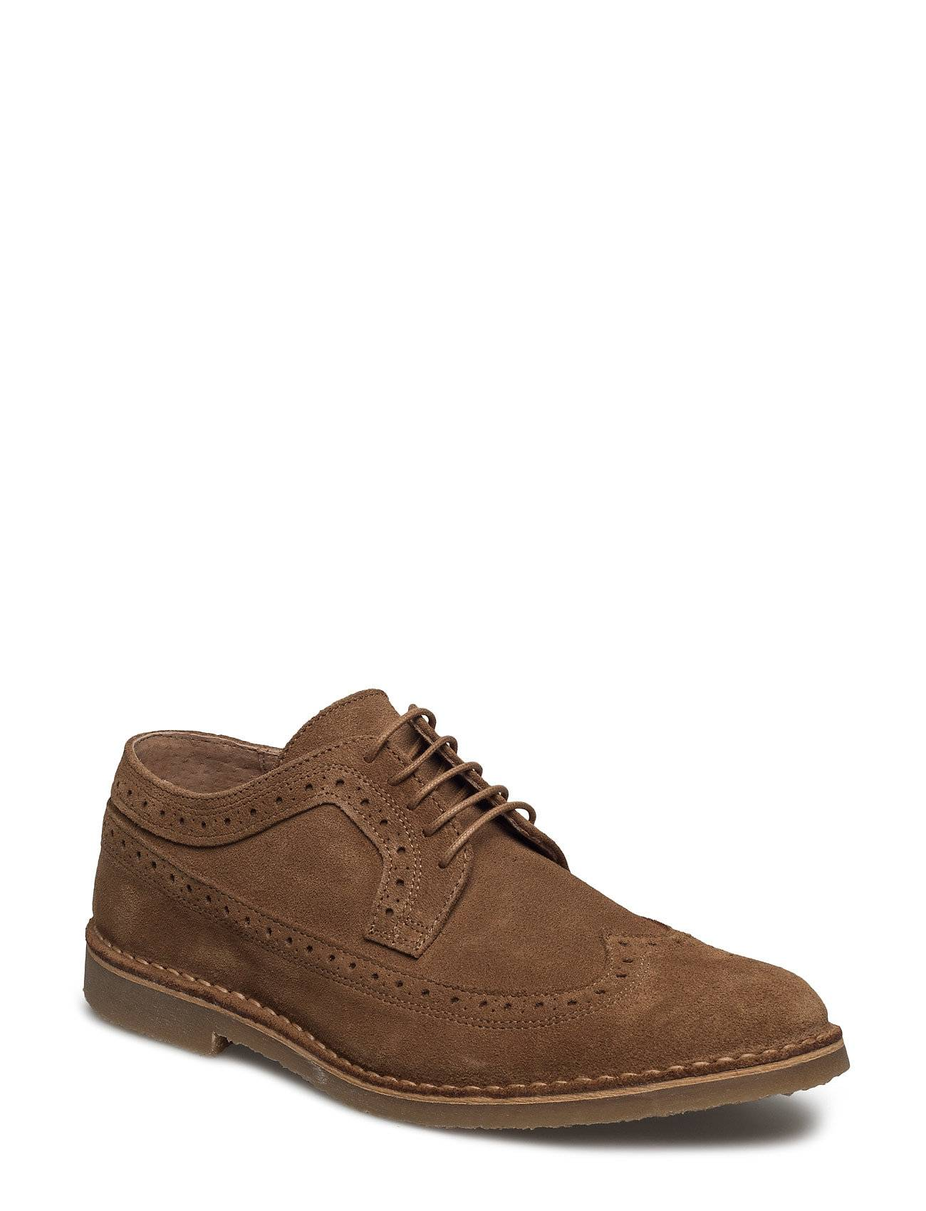Selected Homme Shhroyce New Light Suede Brogue Shoe