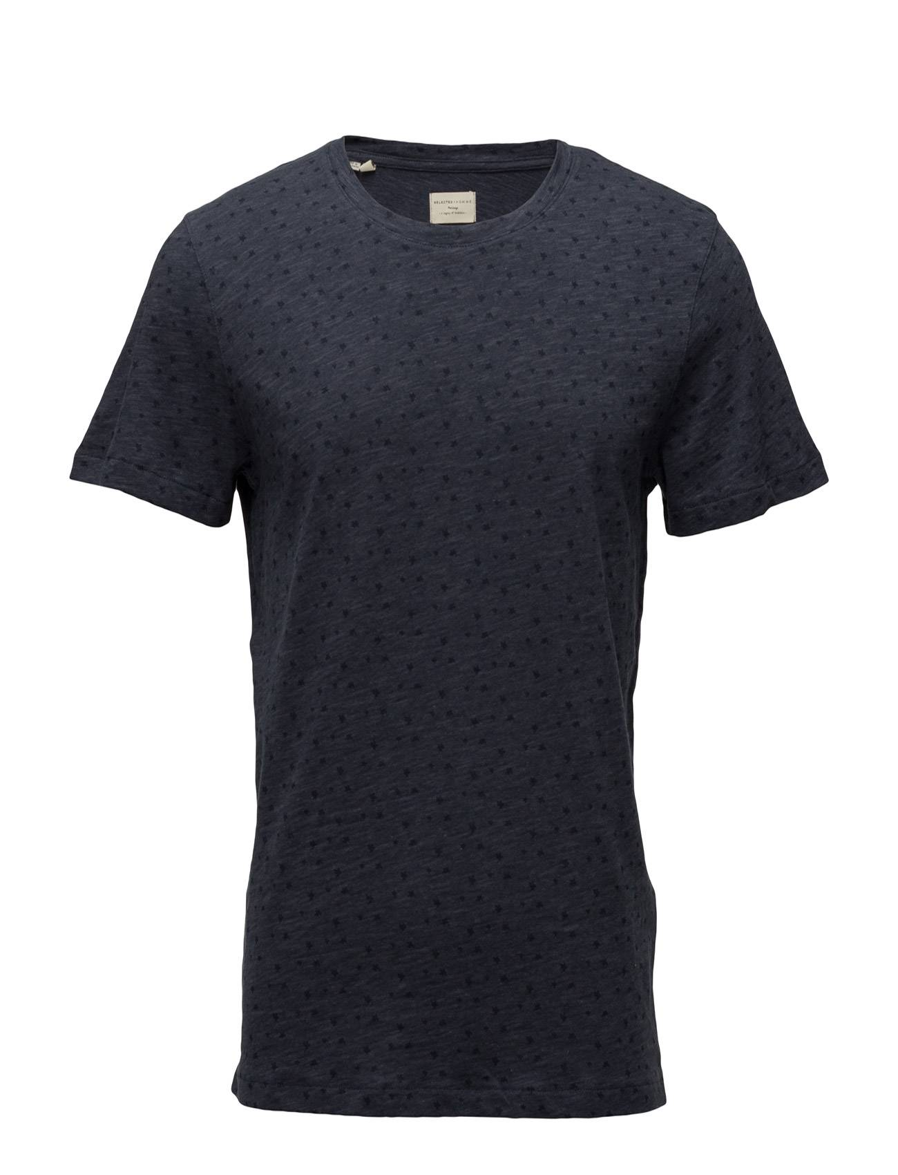 Selected Homme Shhflower Ss O-Neck Tee