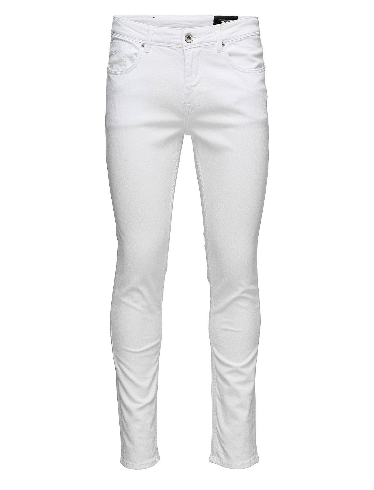 Selected Homme Ab Two White St Jeans