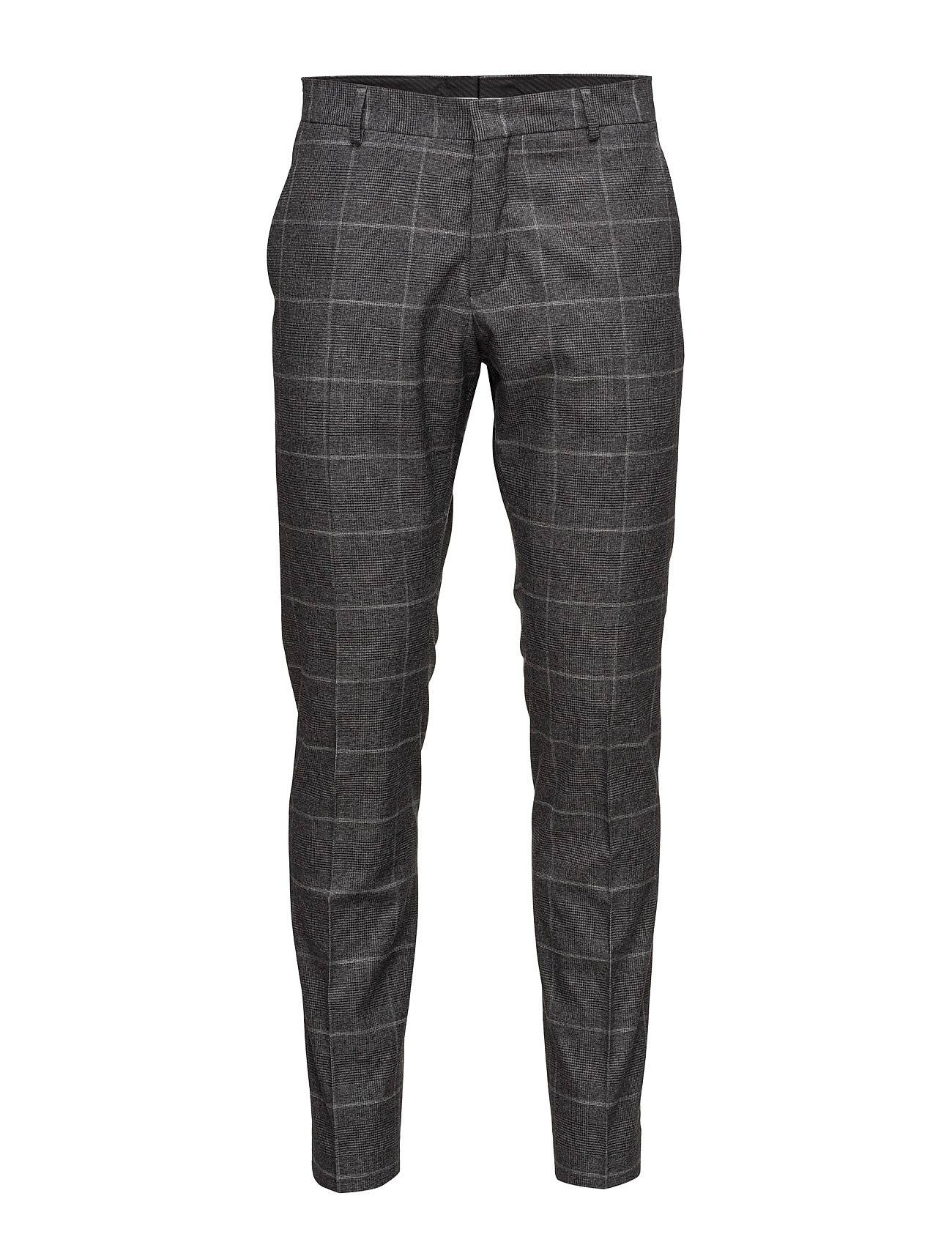 Selected Homme Shdone-Mylodrake2 Grey Check Trouser Sts