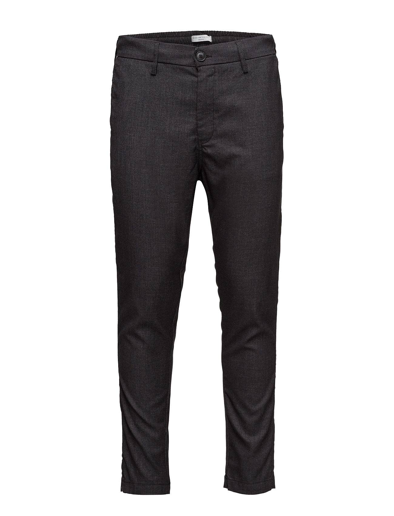 Selected Homme Shdkay Black Tapered St Trouser