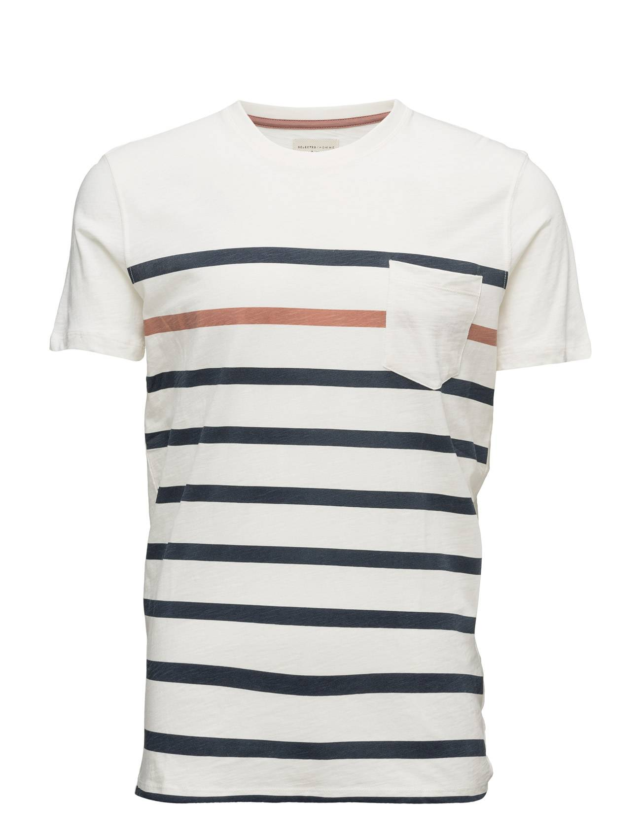 Selected Homme Shhbay Pocket Ss O-Neck Tee