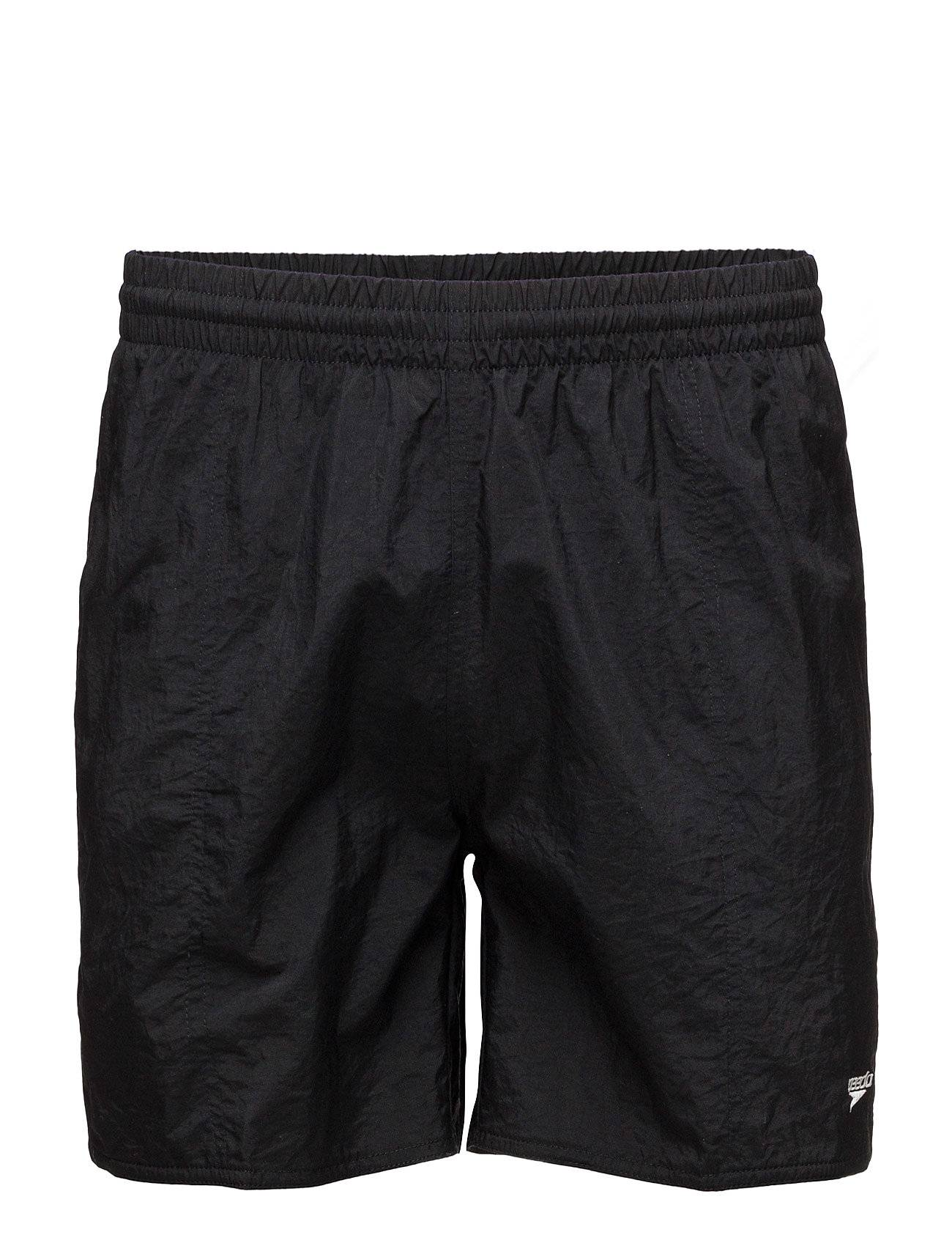 Speedo Solid Leisure 16 Wsht Am, Black Xs