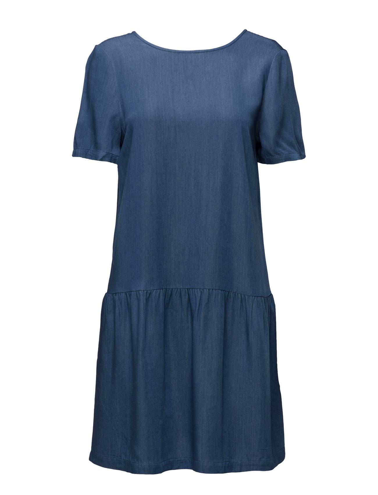 Stig P Johanna Dress With Buttons In Back