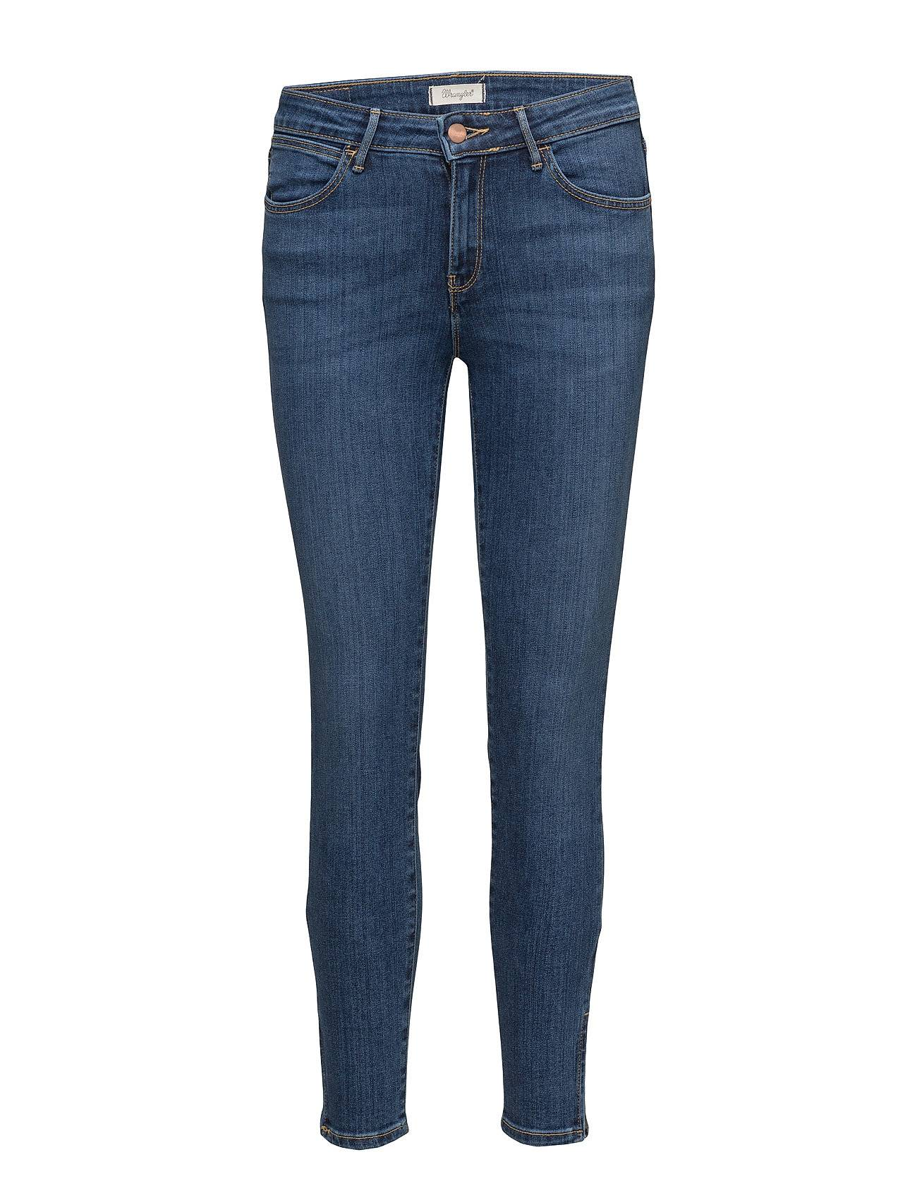 Wrangler Skinny Crop Zip Night Fever