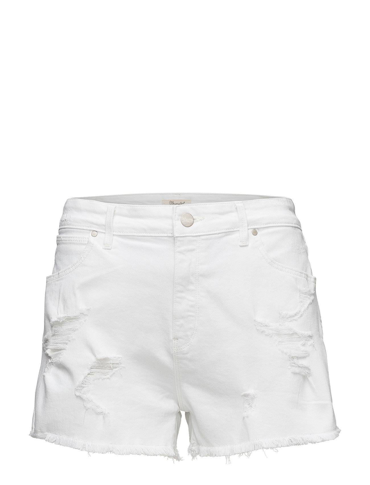 Wrangler Boyfriend Short Damaged White