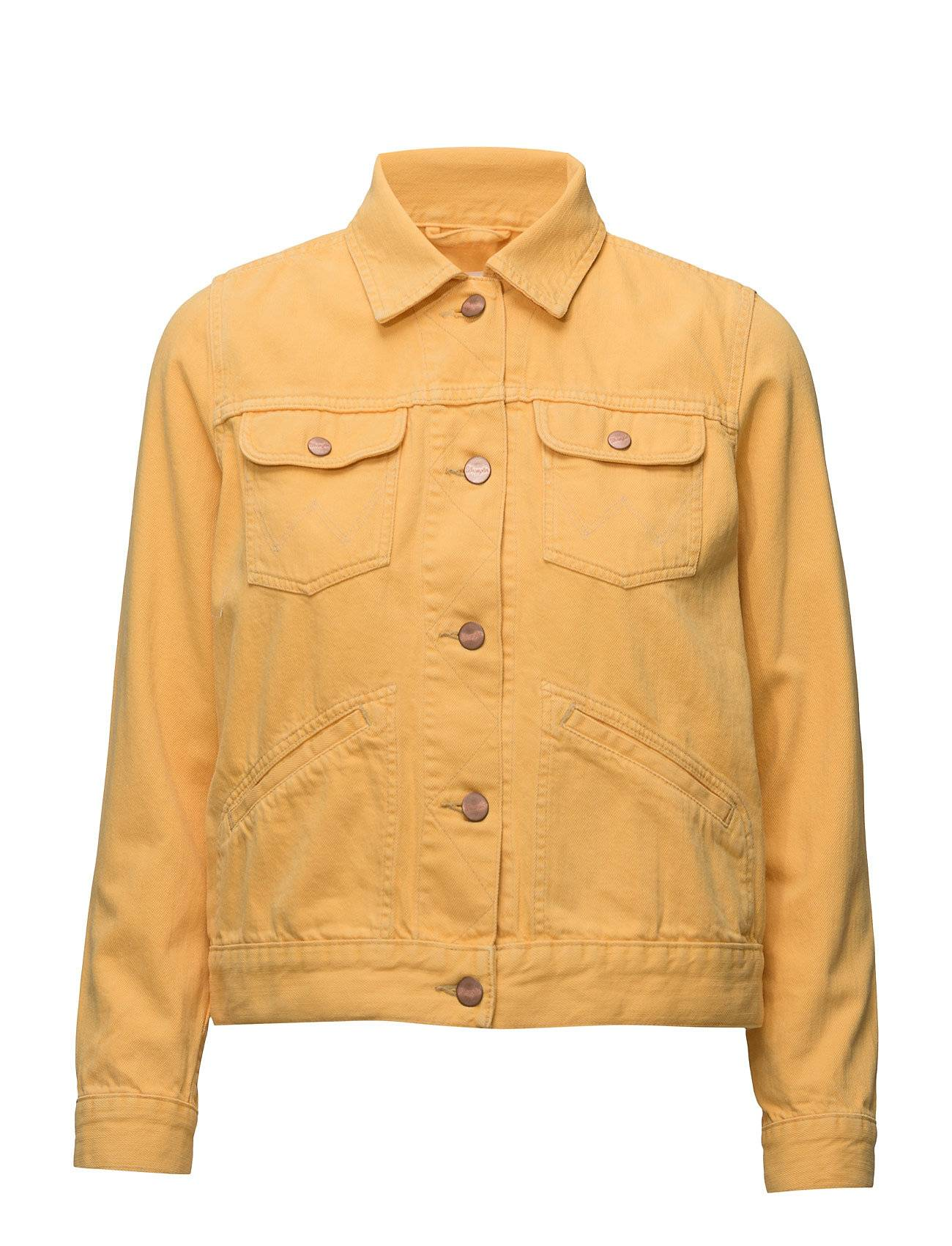 Wrangler Heritage Jacket Yellow