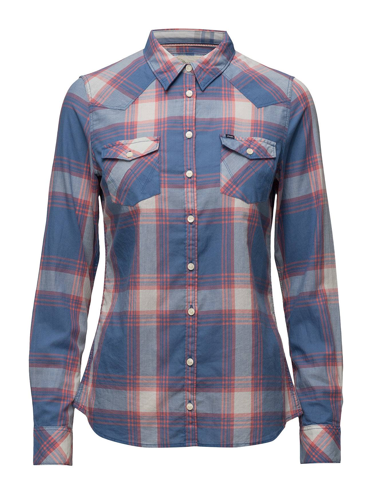 Wrangler Western Shirt Dutch Blue