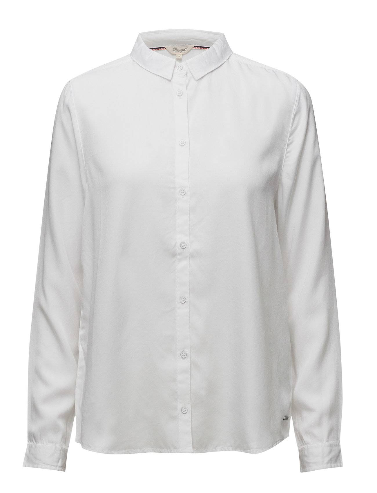 Wrangler Solid Shirt White