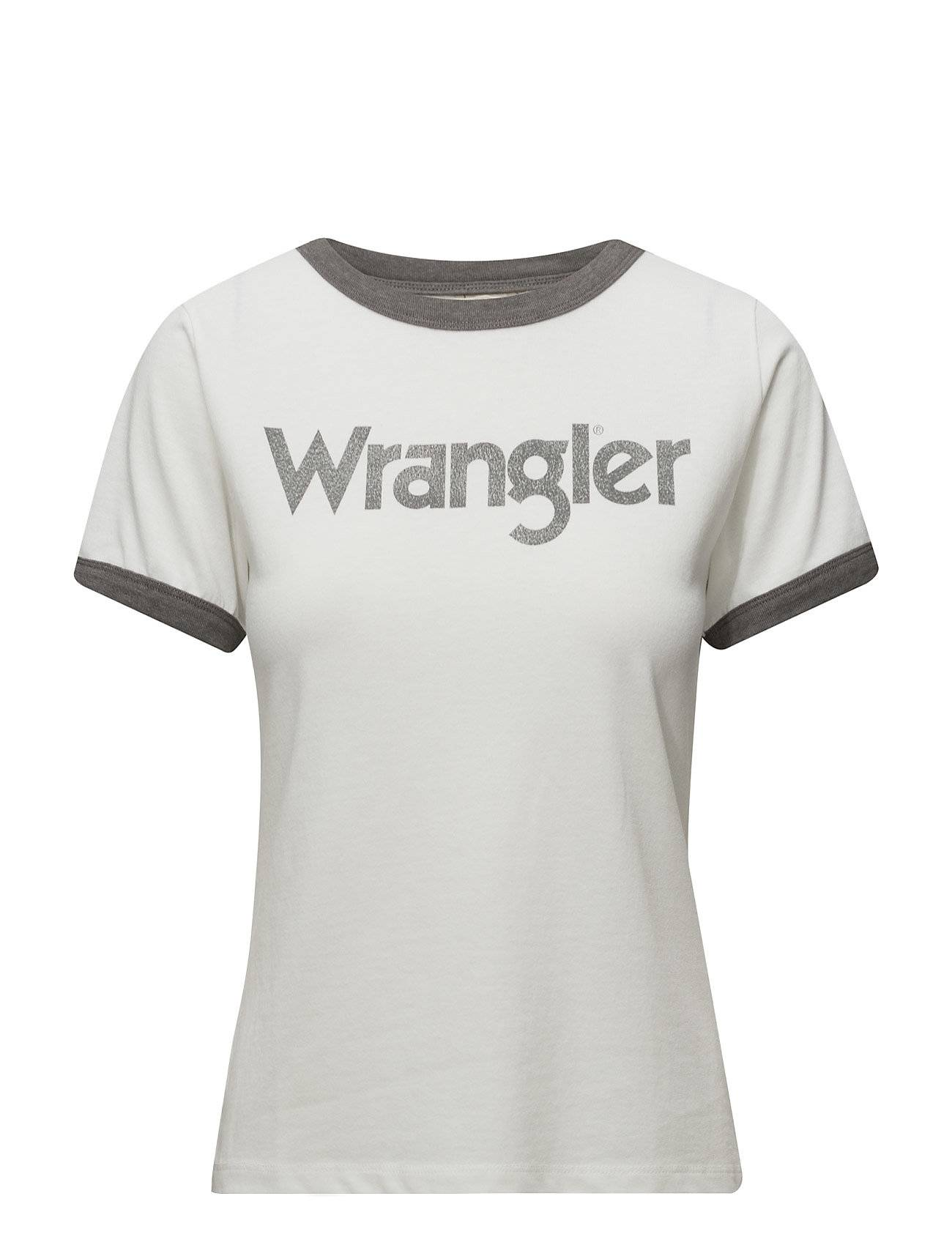 Wrangler Retro Kabel Tee Smoked Grey