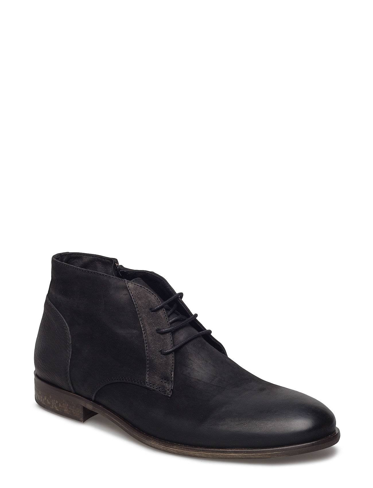 Bianco Raw Laced Up Boot