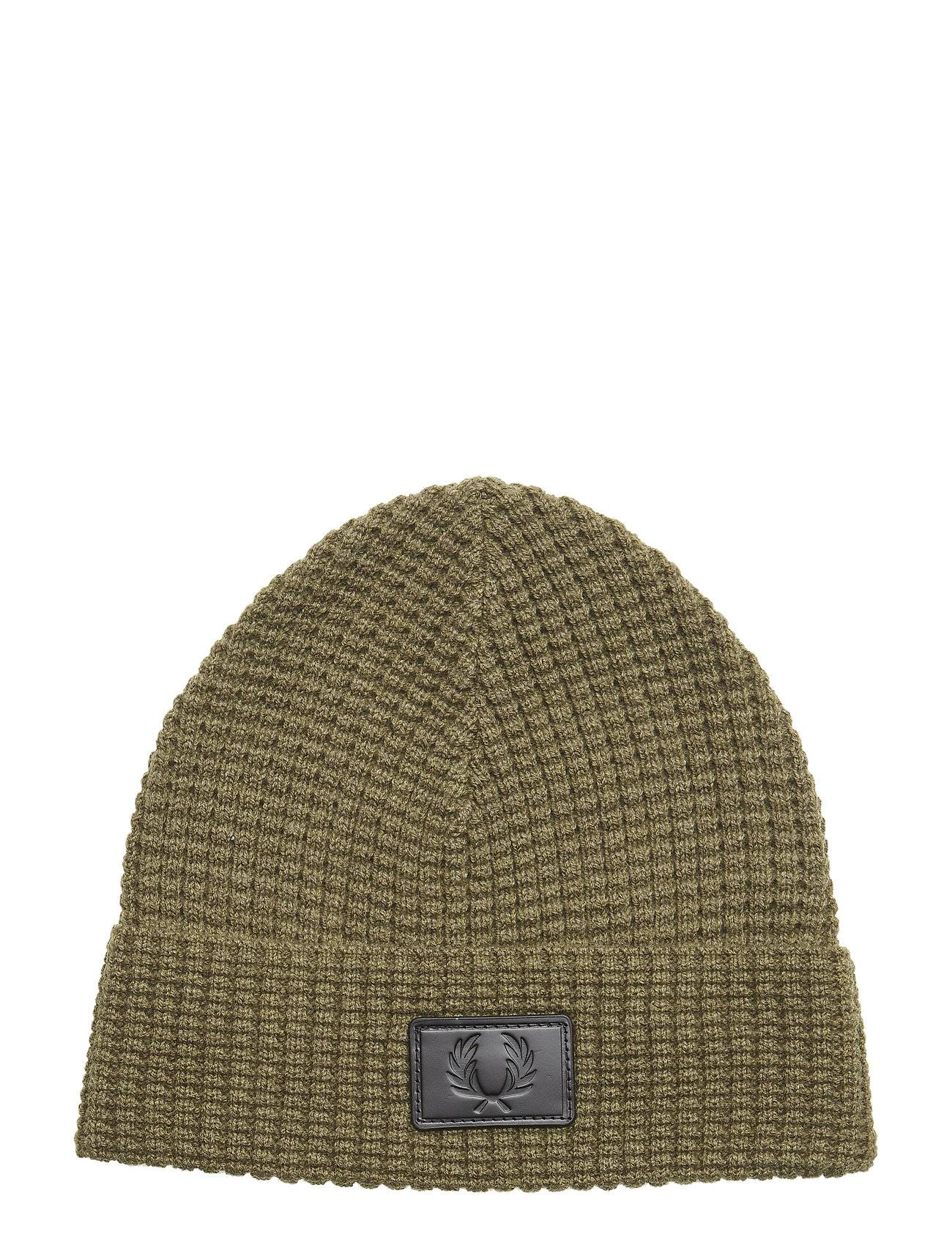 Fred Perry Waffle Knit Beanie