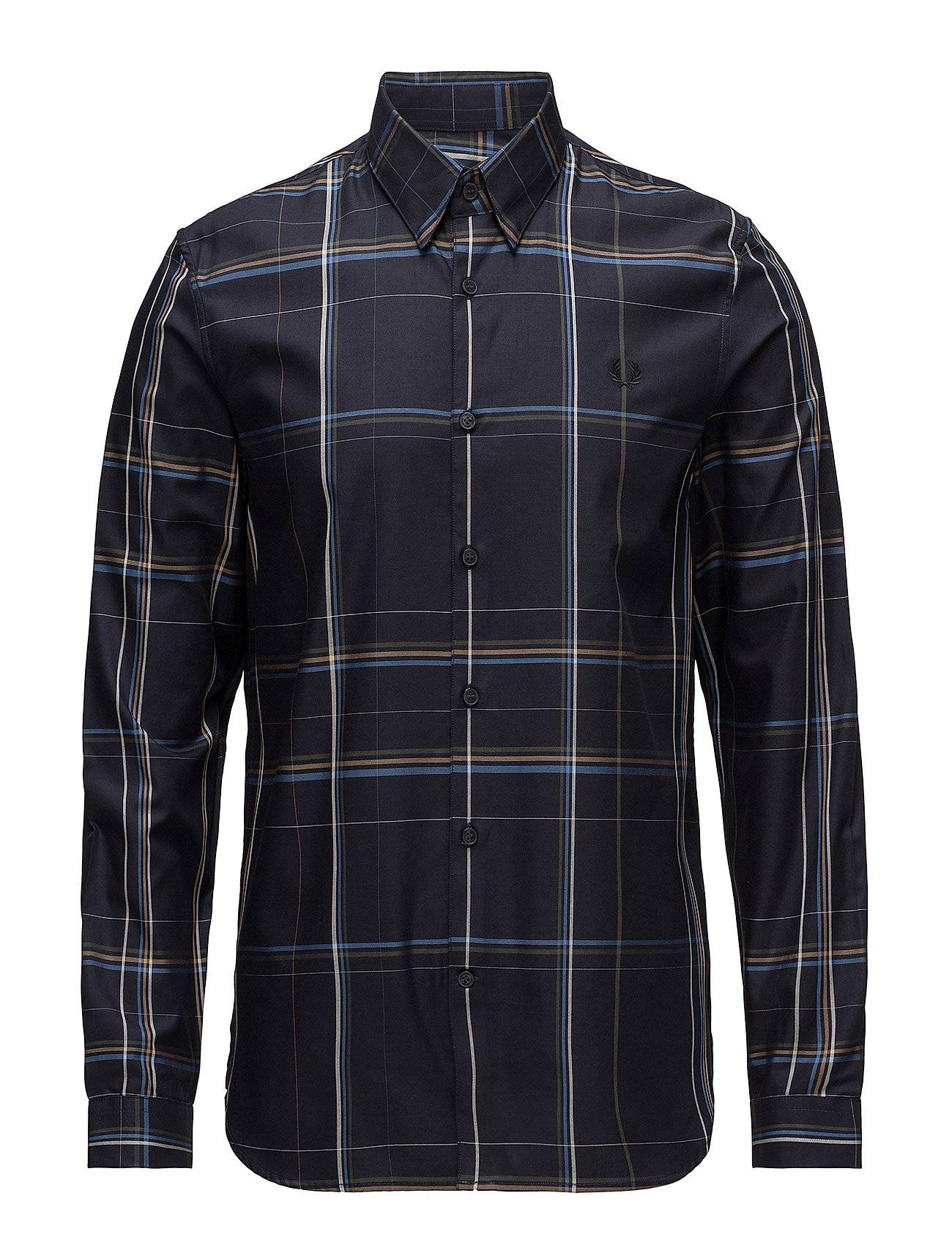 Fred Perry Enlarged Check Shirt
