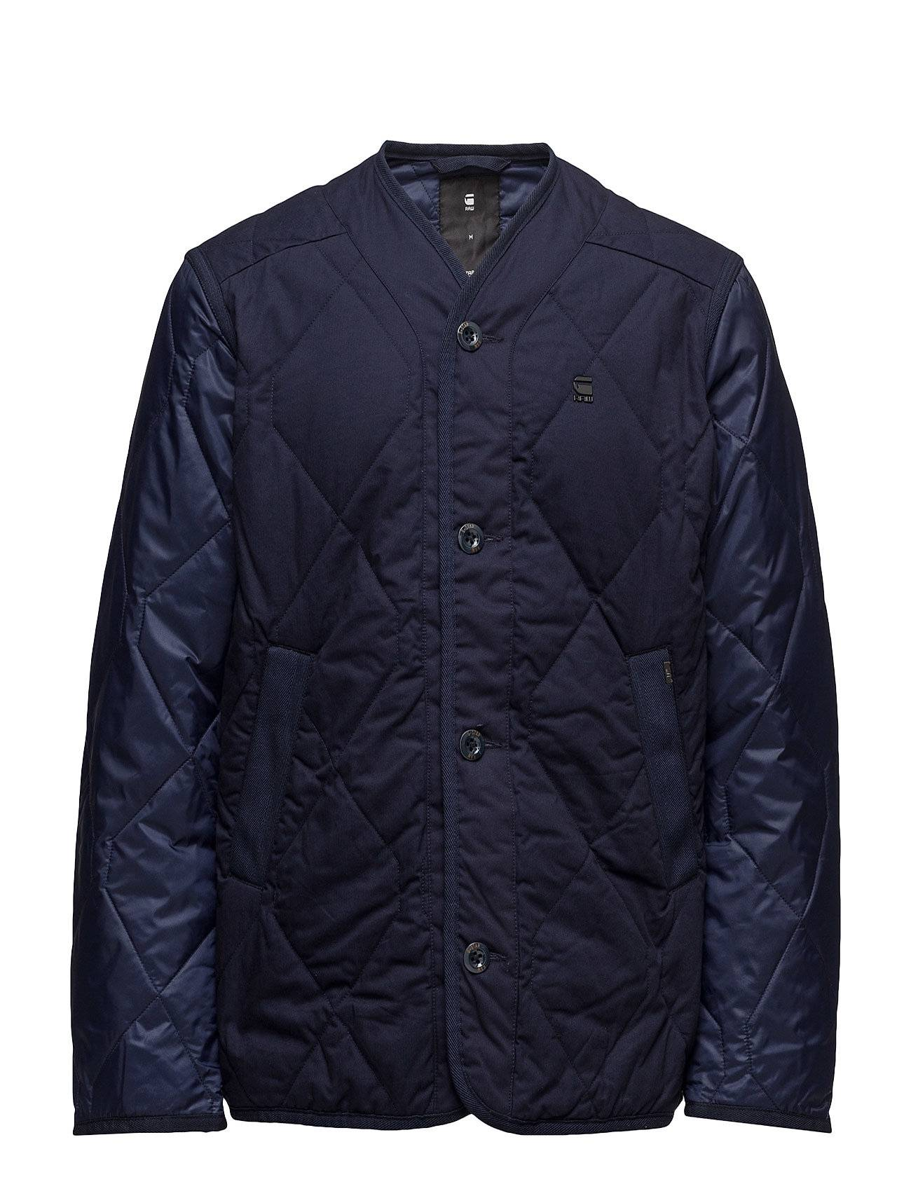 G-star Liner Pm Cropped Quilted Overshirt