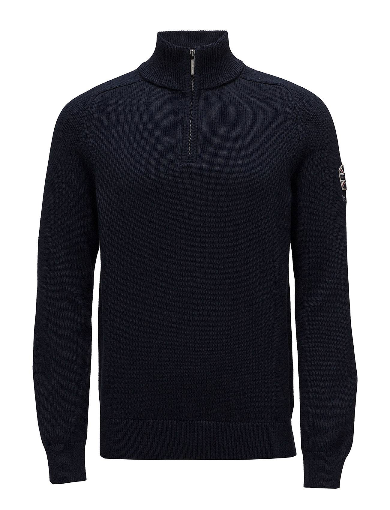 Henri Lloyd Berson Branded Regular Half Zip Knit
