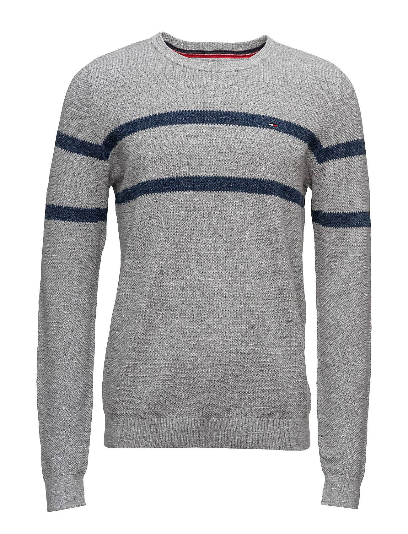 Tommy Jeans Thdm Basic Stp Cn Sweater 21