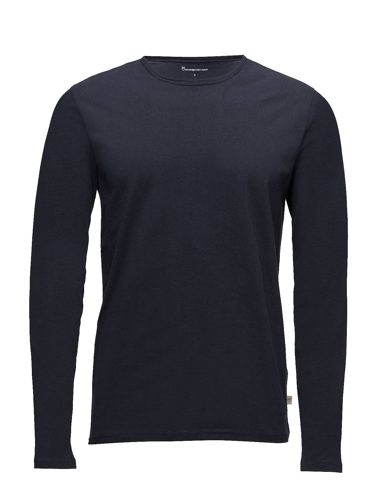 Knowledge Cotton Apparel Round Neck Long Sleeve  - Gots