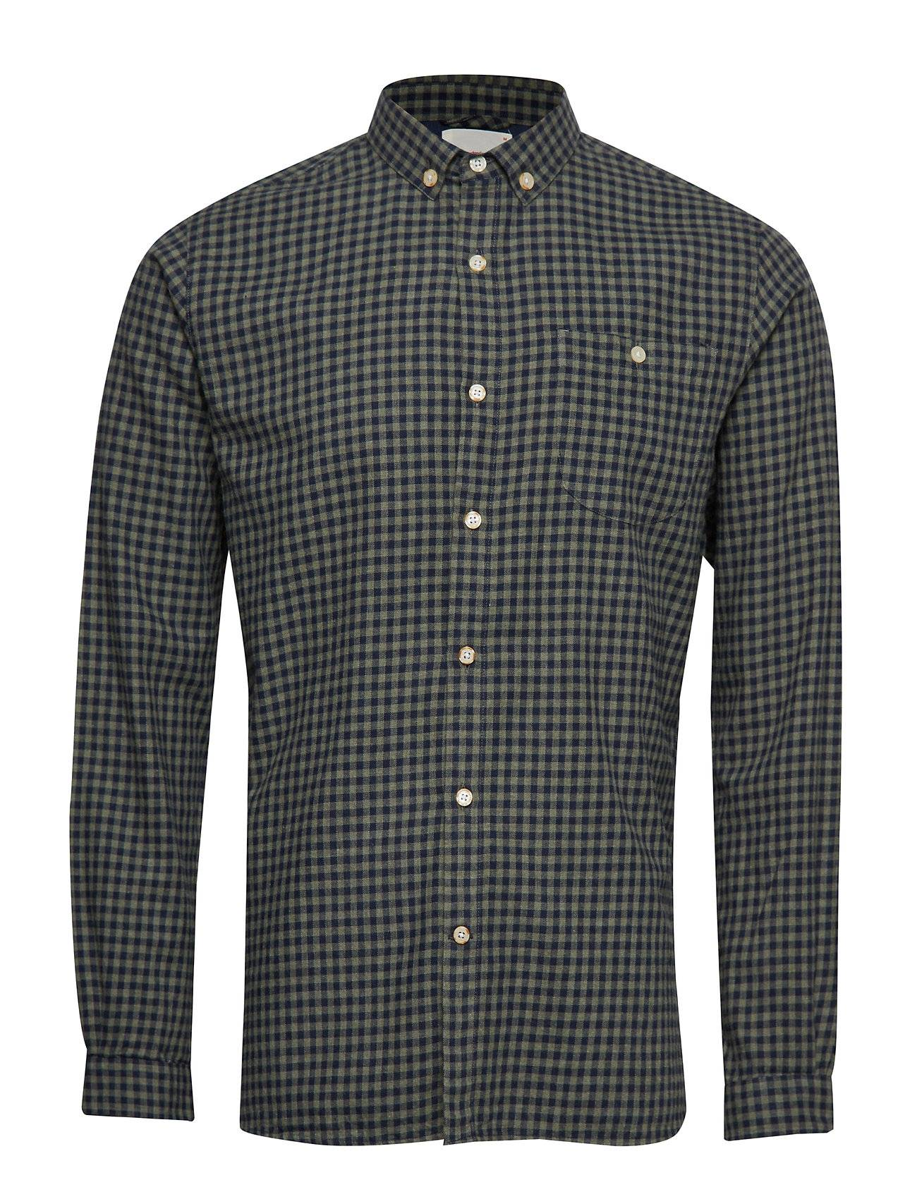 Knowledge Cotton Apparel Small Checked Flannel Shirt - Gots