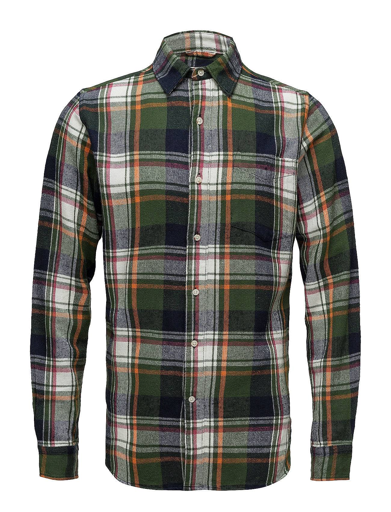 Knowledge Cotton Apparel Checked Flanel Shirt - Gots