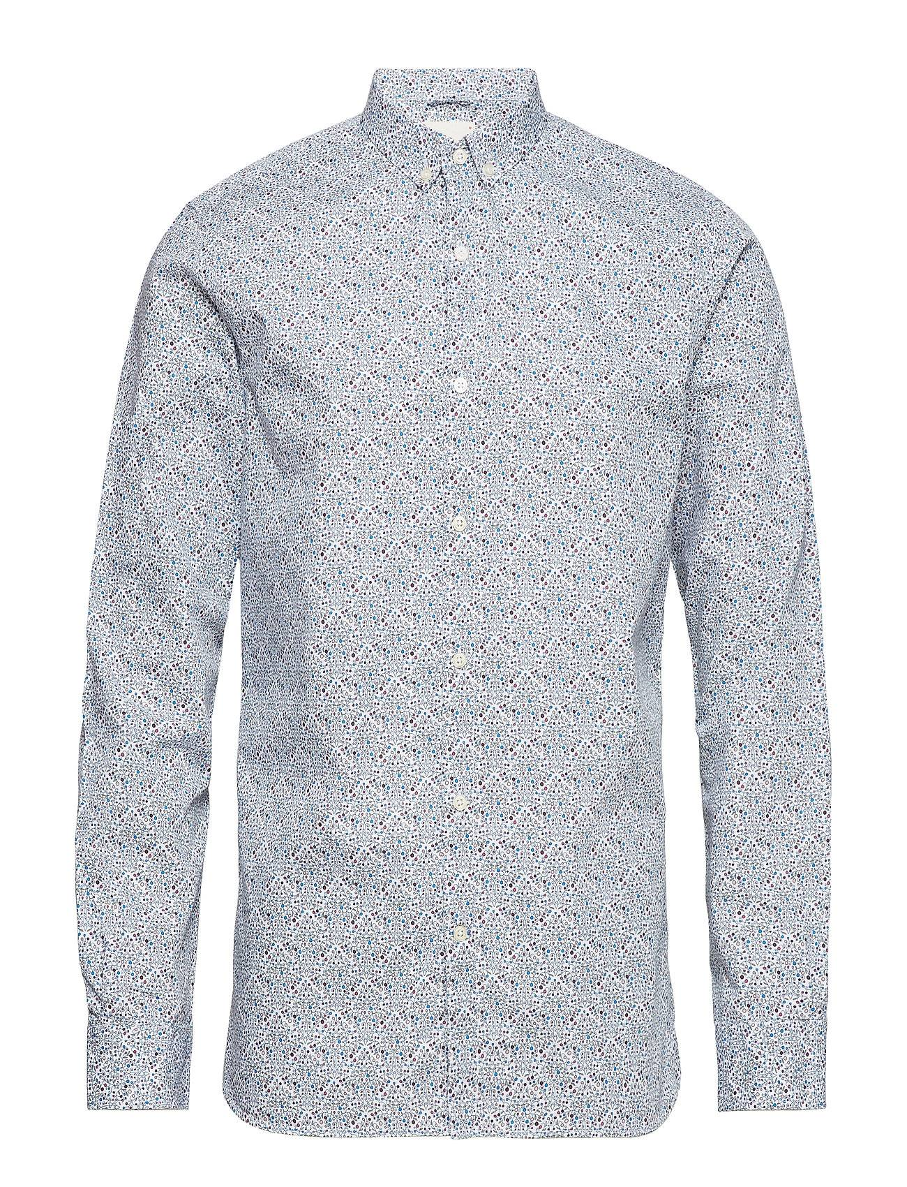 Knowledge Cotton Apparel Petit All Over Flower Printed Shirt