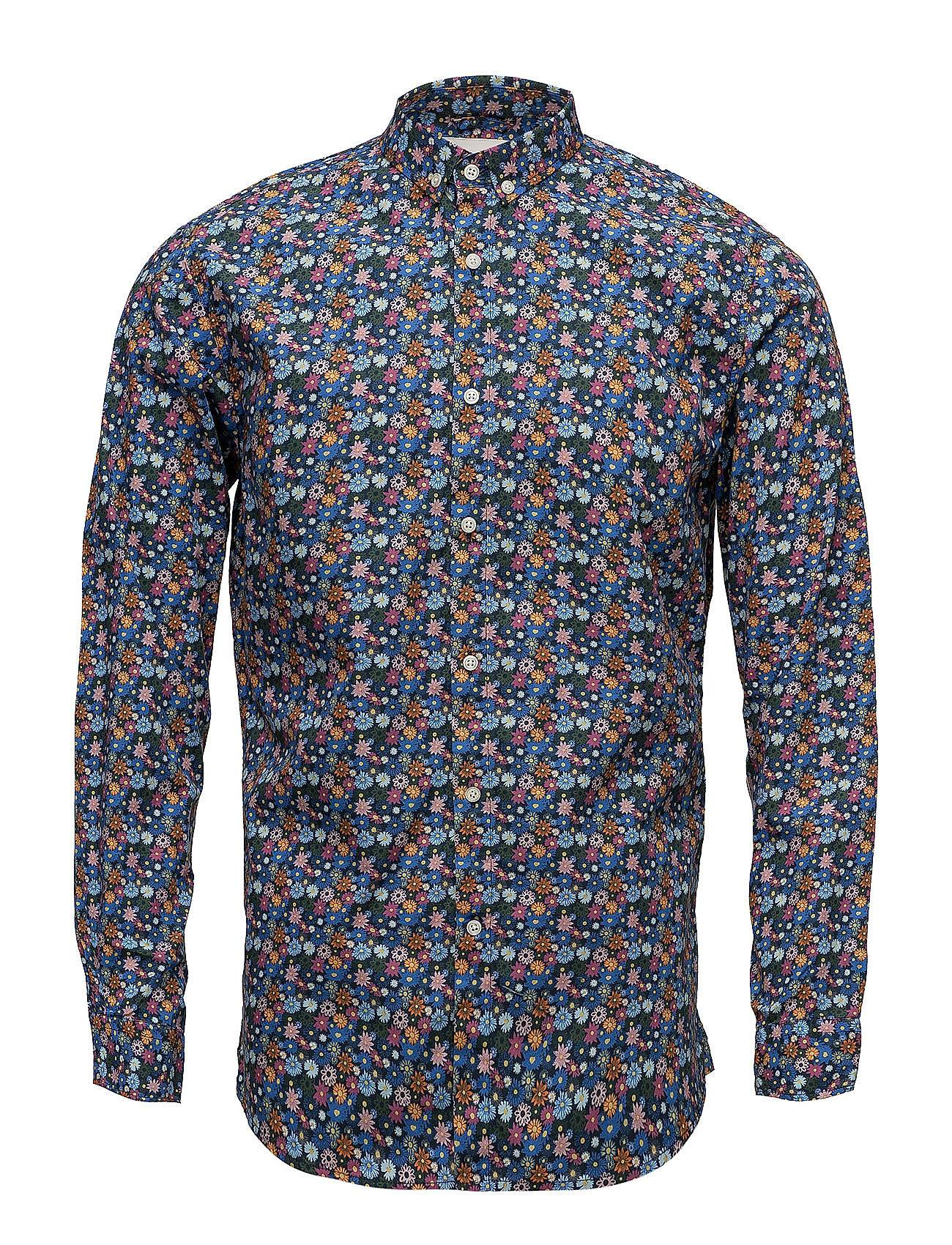 Knowledge Cotton Apparel All Over Flower Printed Shirt