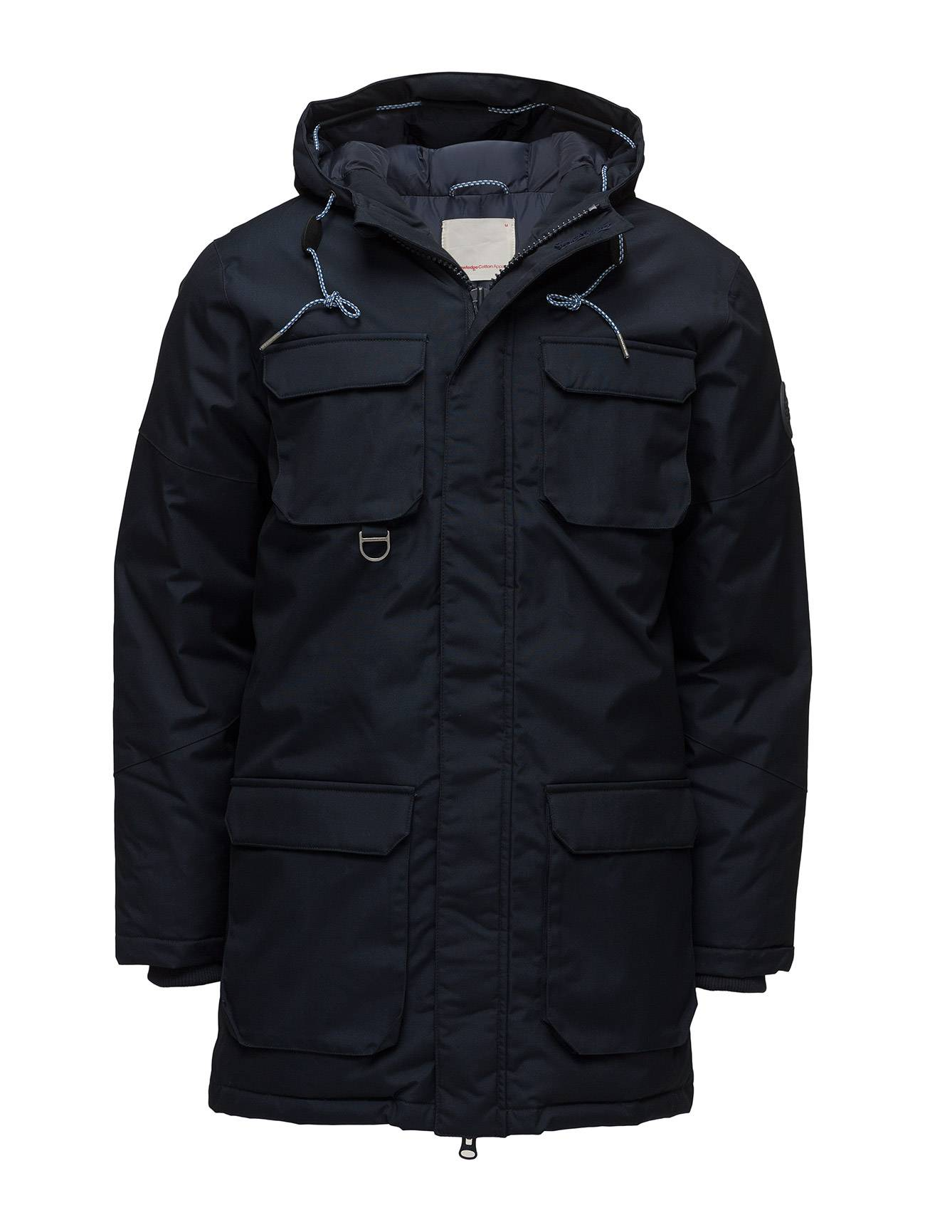 Knowledge Cotton Apparel Heavy Parka Jacket - Grs