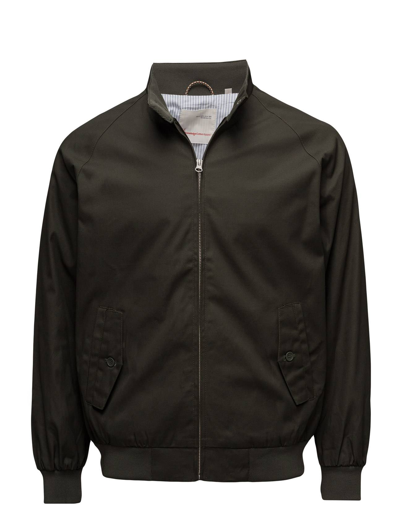 Knowledge Cotton Apparel Catalina Jacket W/Stripped Oxford L