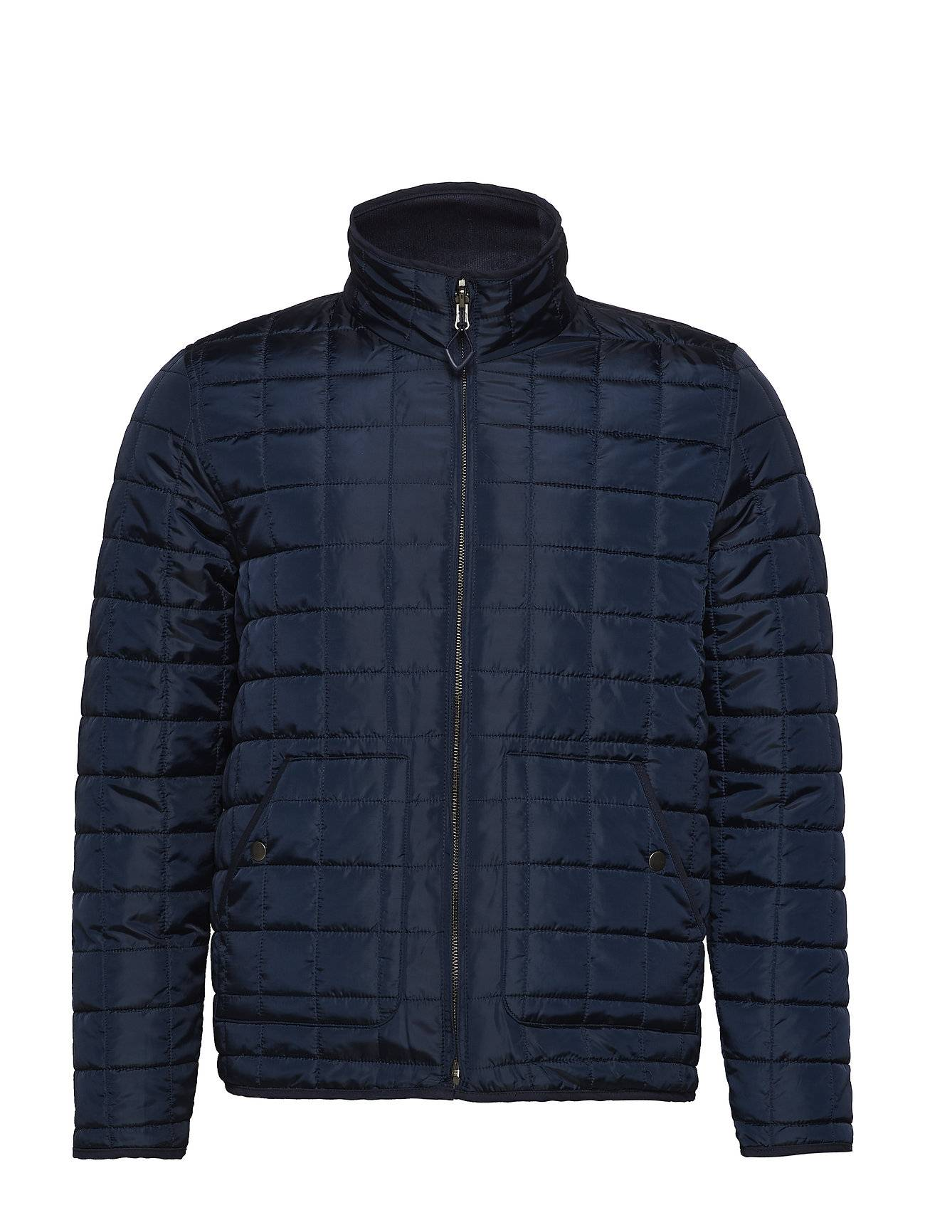 Knowledge Cotton Apparel Reversible Quilted Jacket - Grs/Veg