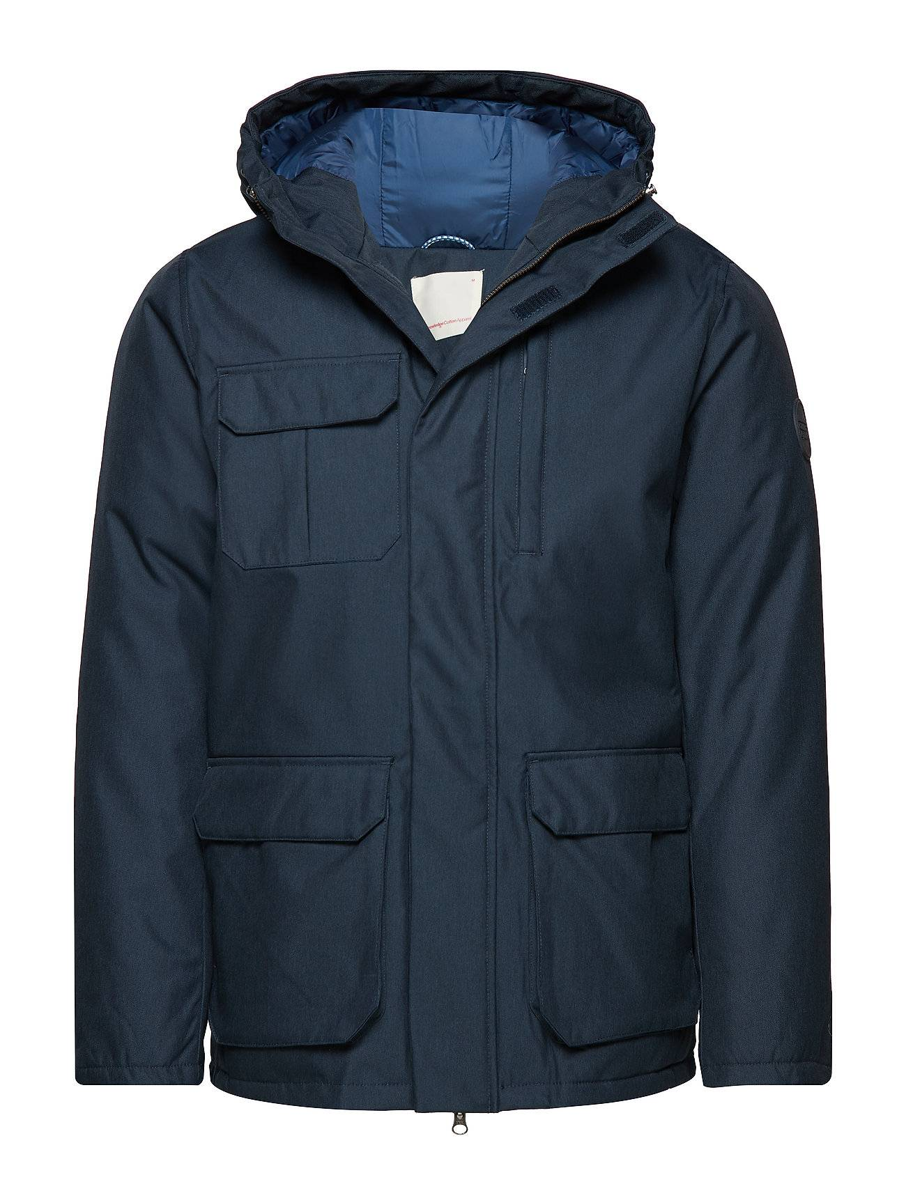 Knowledge Cotton Apparel Funtional Jacket Oxford Look - Grs