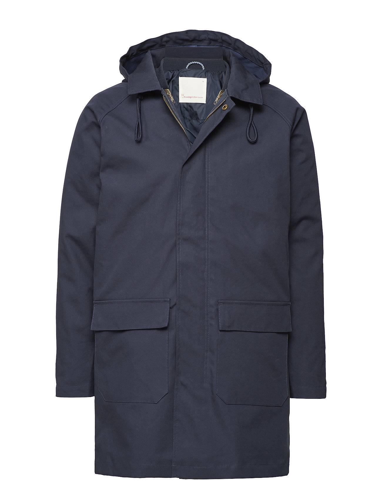 Knowledge Cotton Apparel Bounded Parca Jacket - Grs