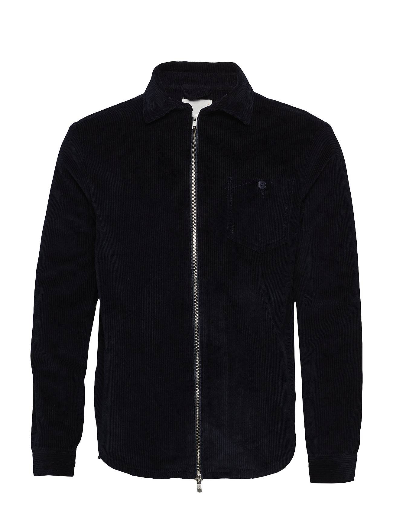 Knowledge Cotton Apparel Cord Shirt Jacket 8 Wales - Ocs