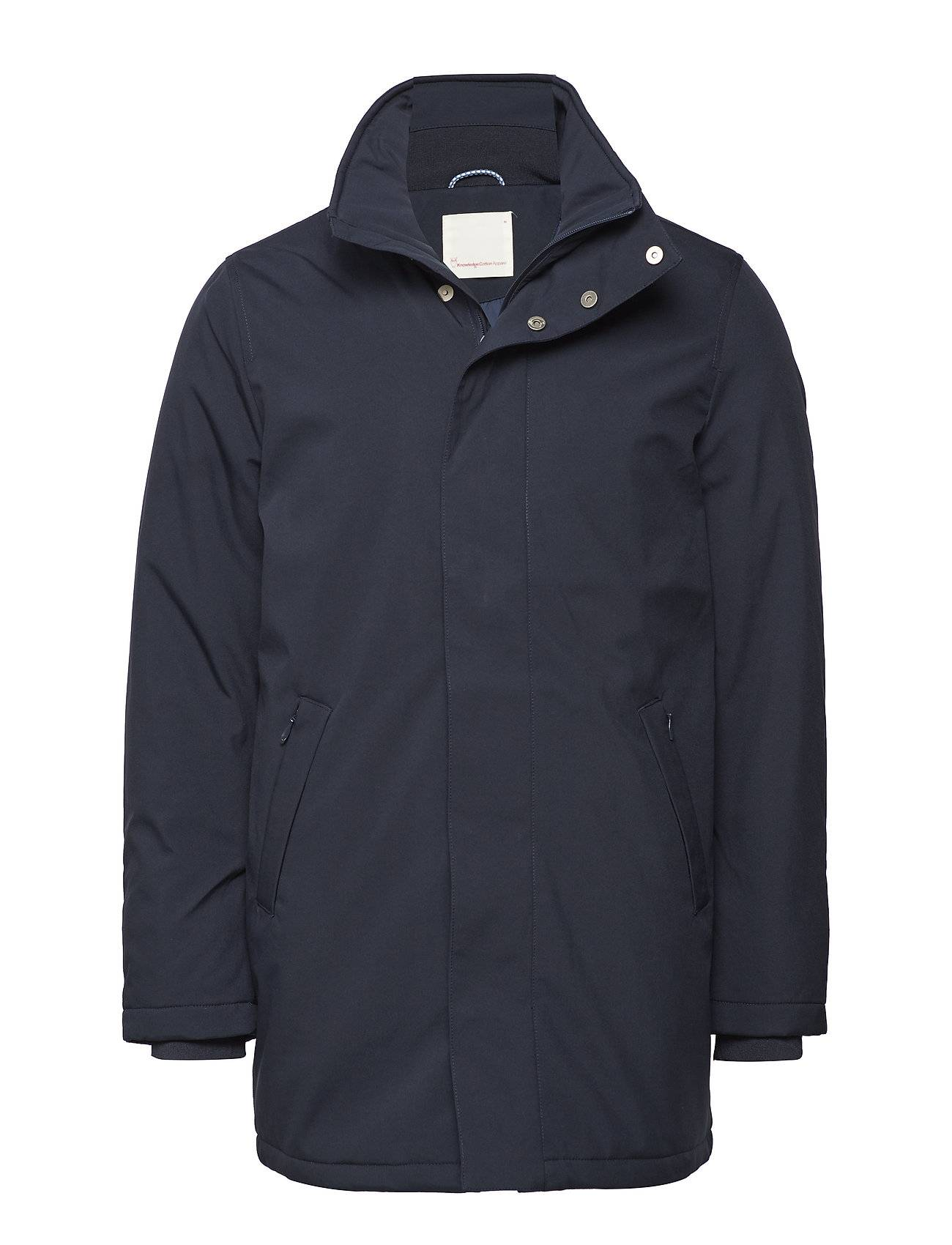 Knowledge Cotton Apparel Softshell Long Jacket - Grs