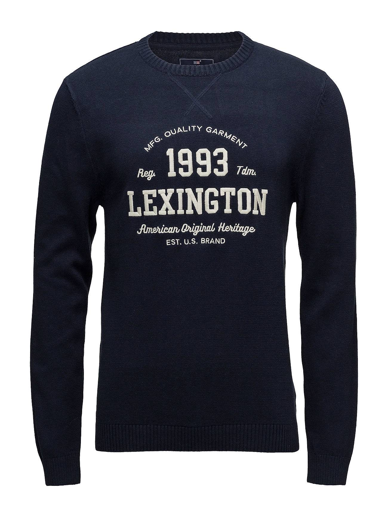 Lexington Clothing Nelson Knitted Sweatshirt
