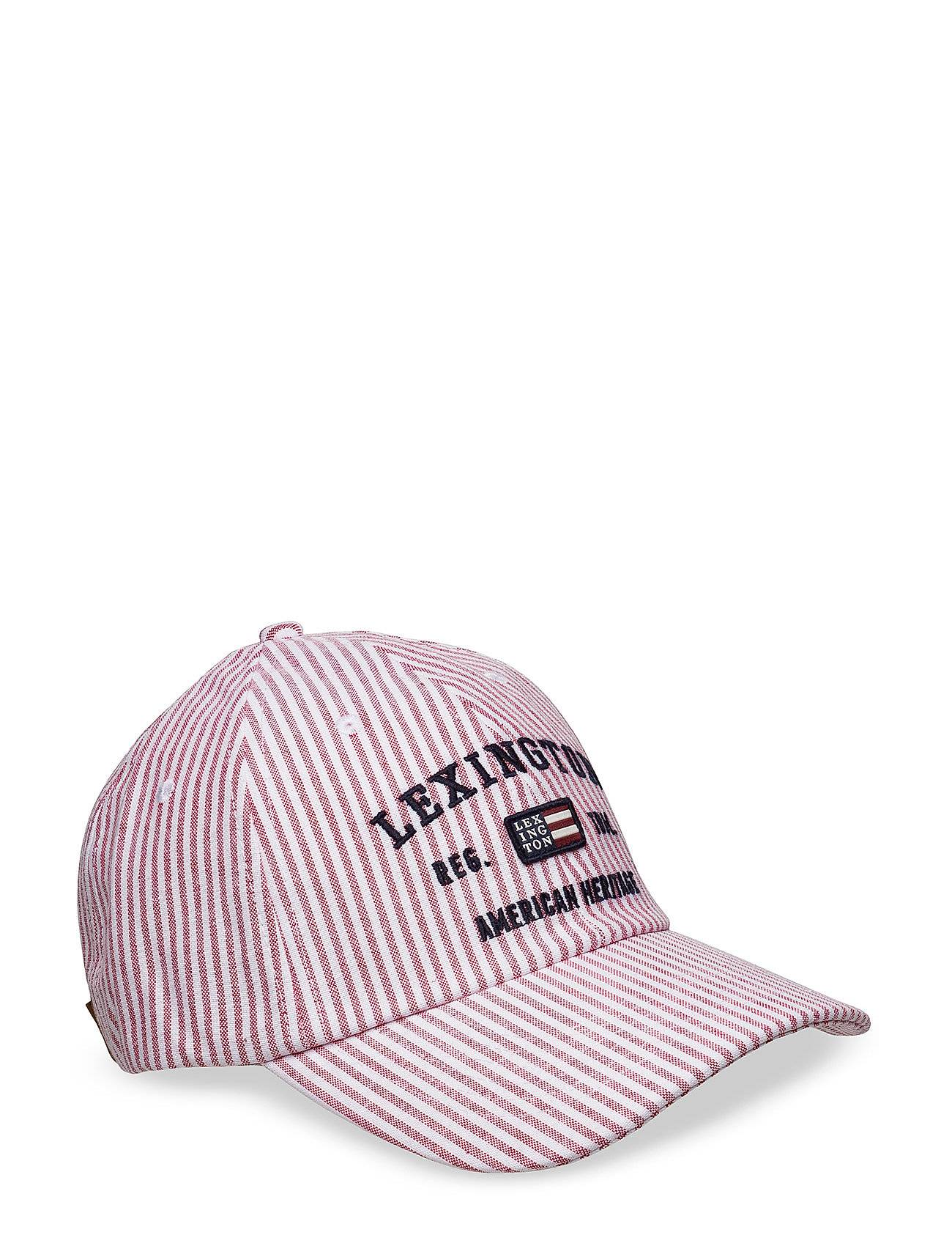 Lexington Clothing Houston Striped Oxford Cap