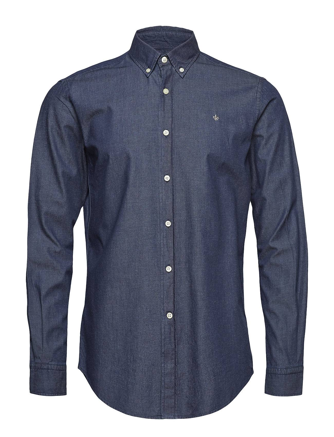 Morris Julian Button Down Denim Shirt