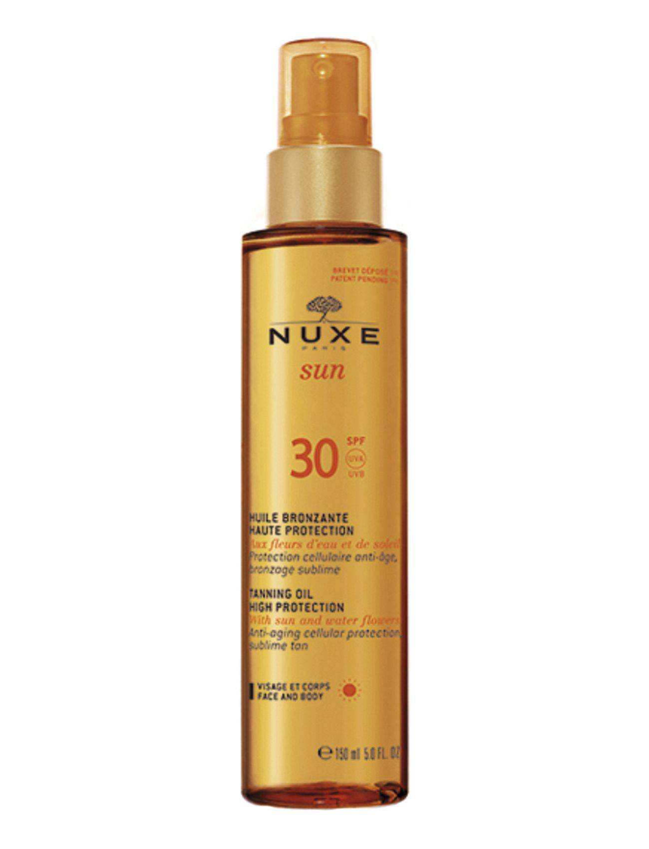 NUXE Tanning Oil Face & Body Spf30