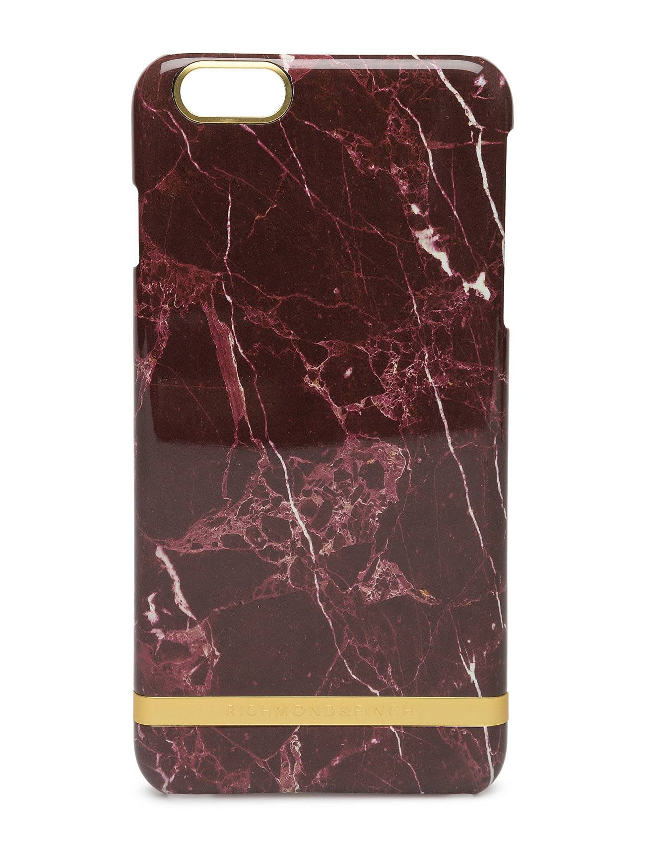 Richmond & Finch Red Marble Glossy Iphone 6plus