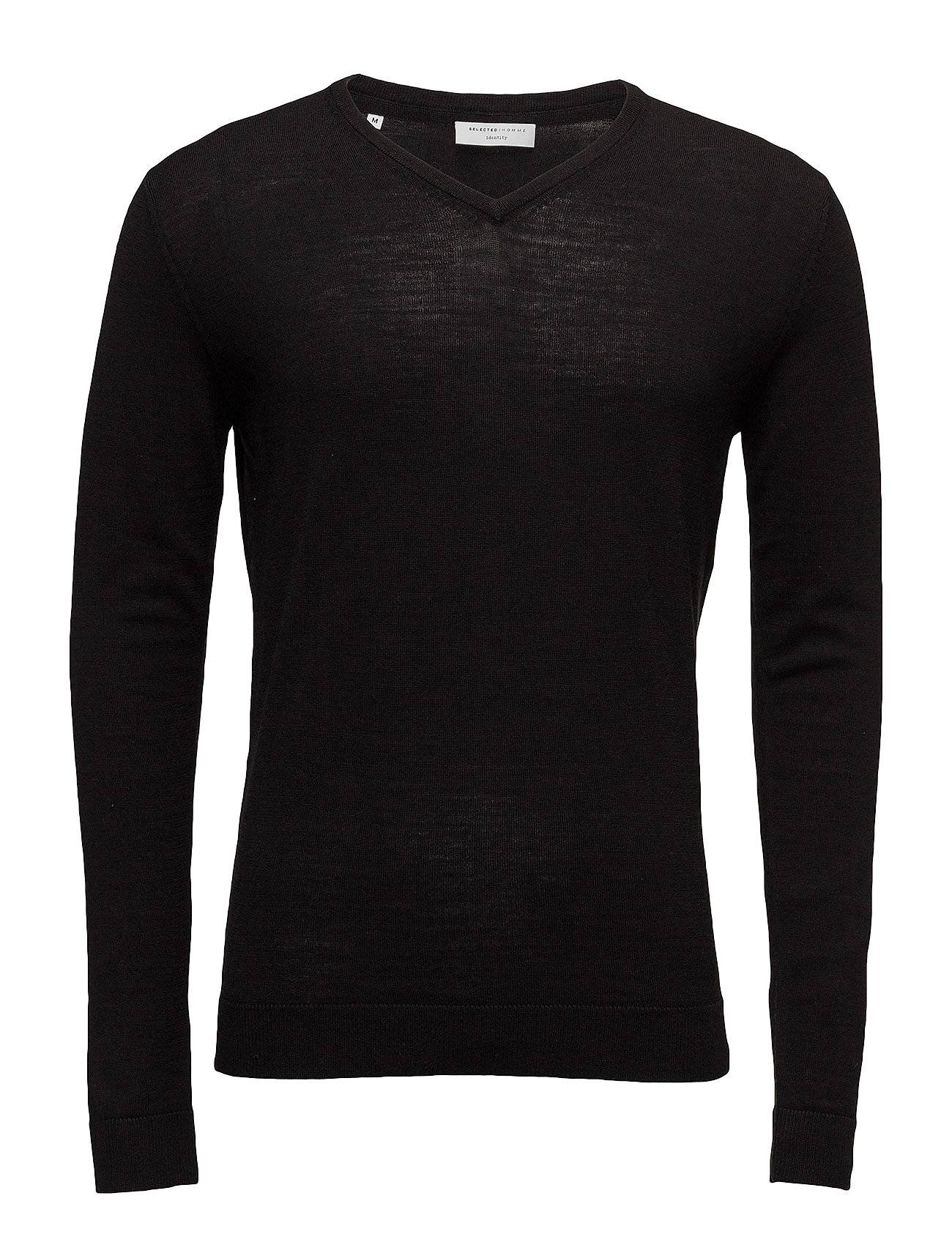 Selected Homme Shdtower Merino V-Neck Noos