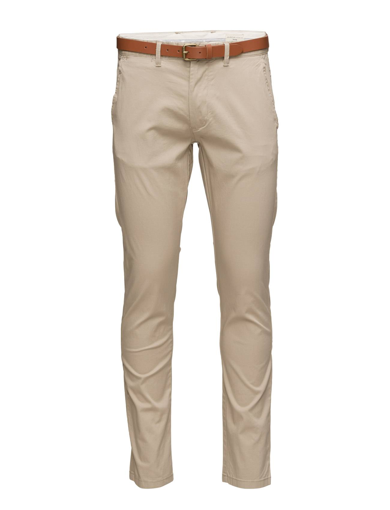 Selected Homme Slhslim-Yard White Pepper Pants W Noos