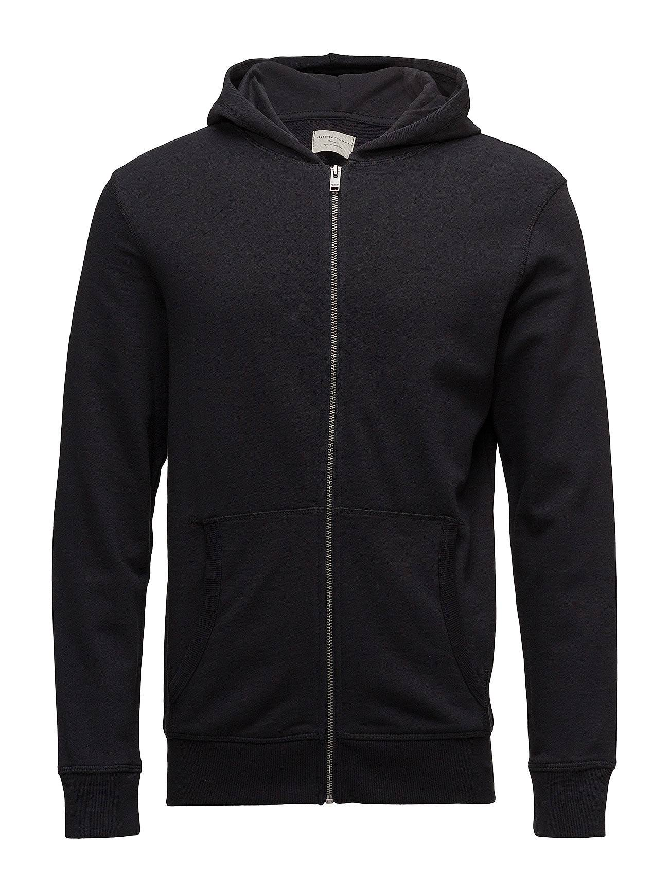 Selected Homme Slhsimon Zip Hood Sweat W Noos