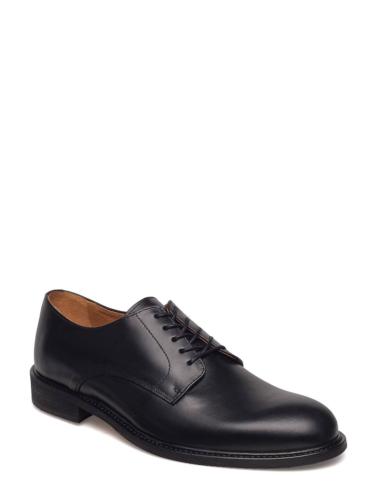Selected Homme Slhbaxter Derby Leather Shoe B Noos