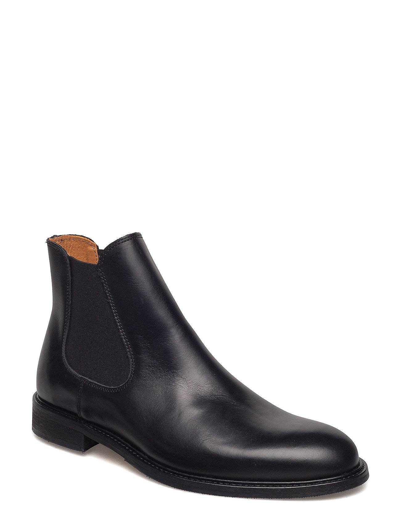 Selected Homme Slhbaxter Chelsea Leather Boot B Noos