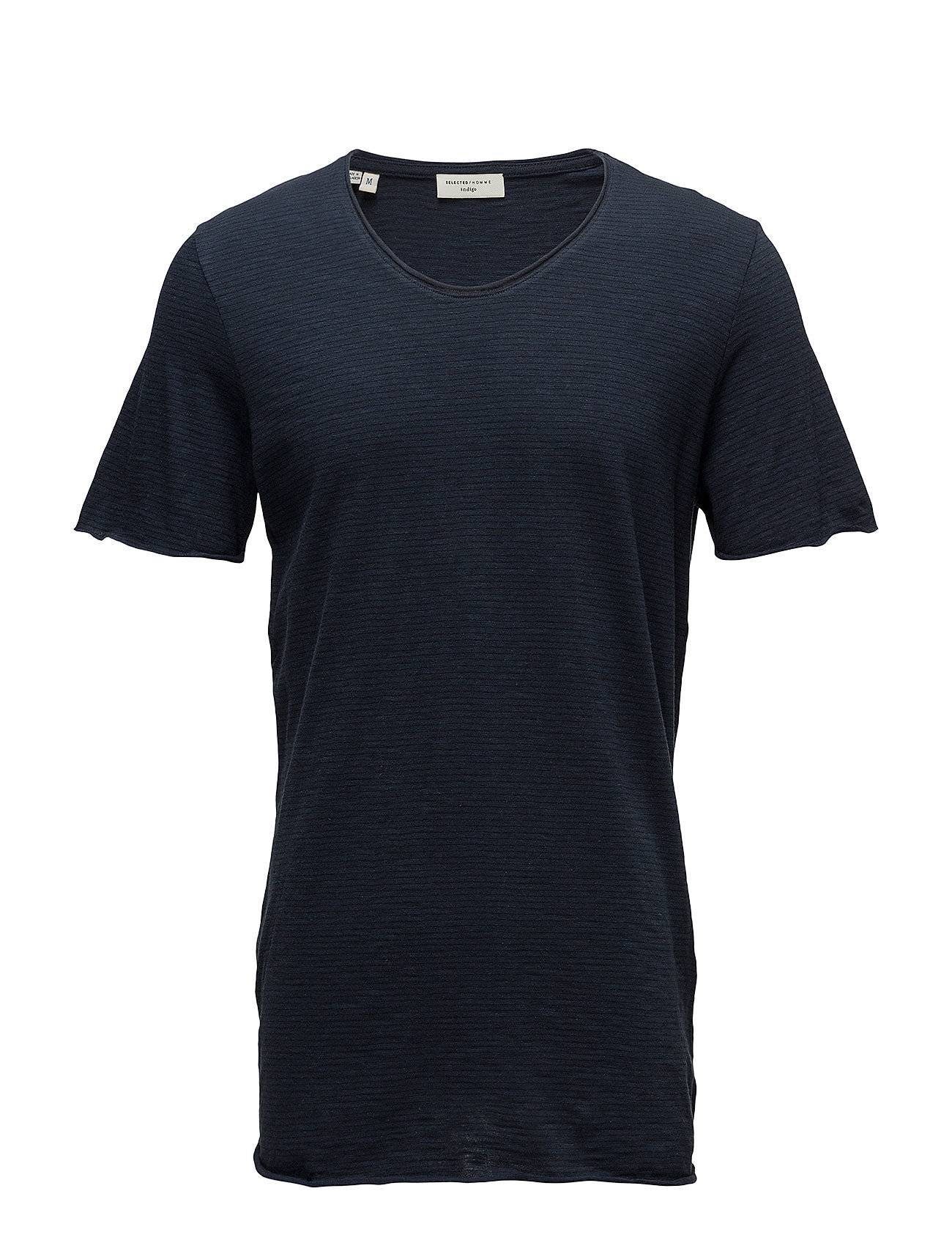 Selected Homme Slhnewmerce Stripe Ss O-Neck Tee W Noos