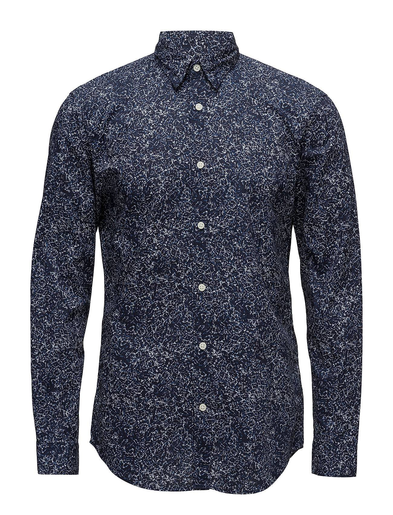 Selected Homme Slhslimmase Shirt Ls Aop W