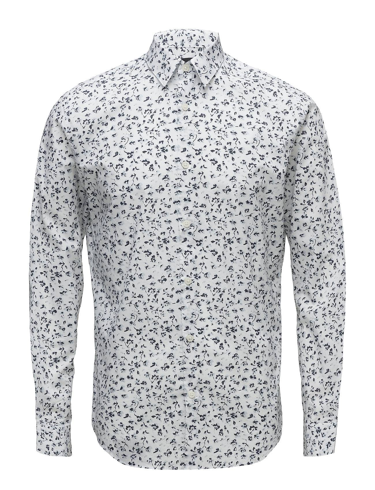 Selected Homme Slhslimprint Shirt Ls Aop B