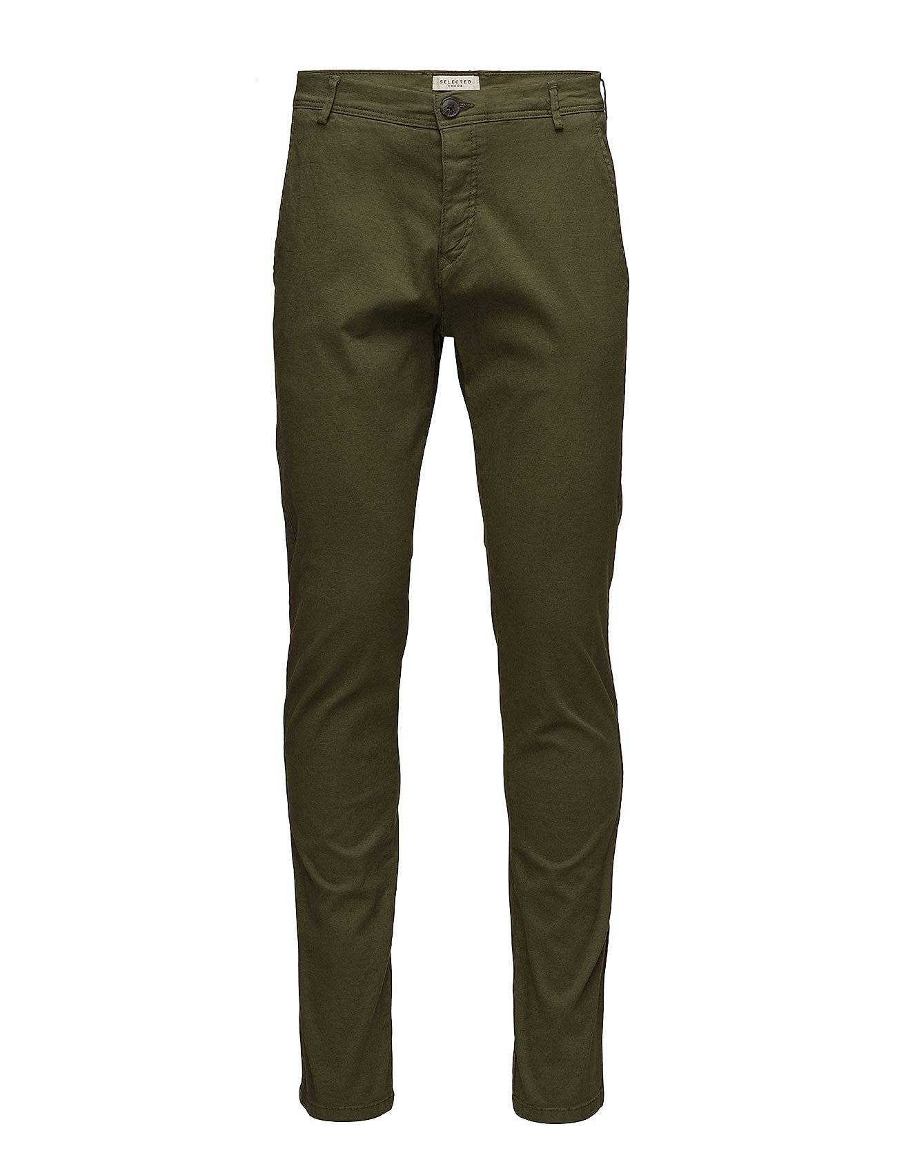 Selected Homme Slhskinny-Luca Olive Night Pants W Noos