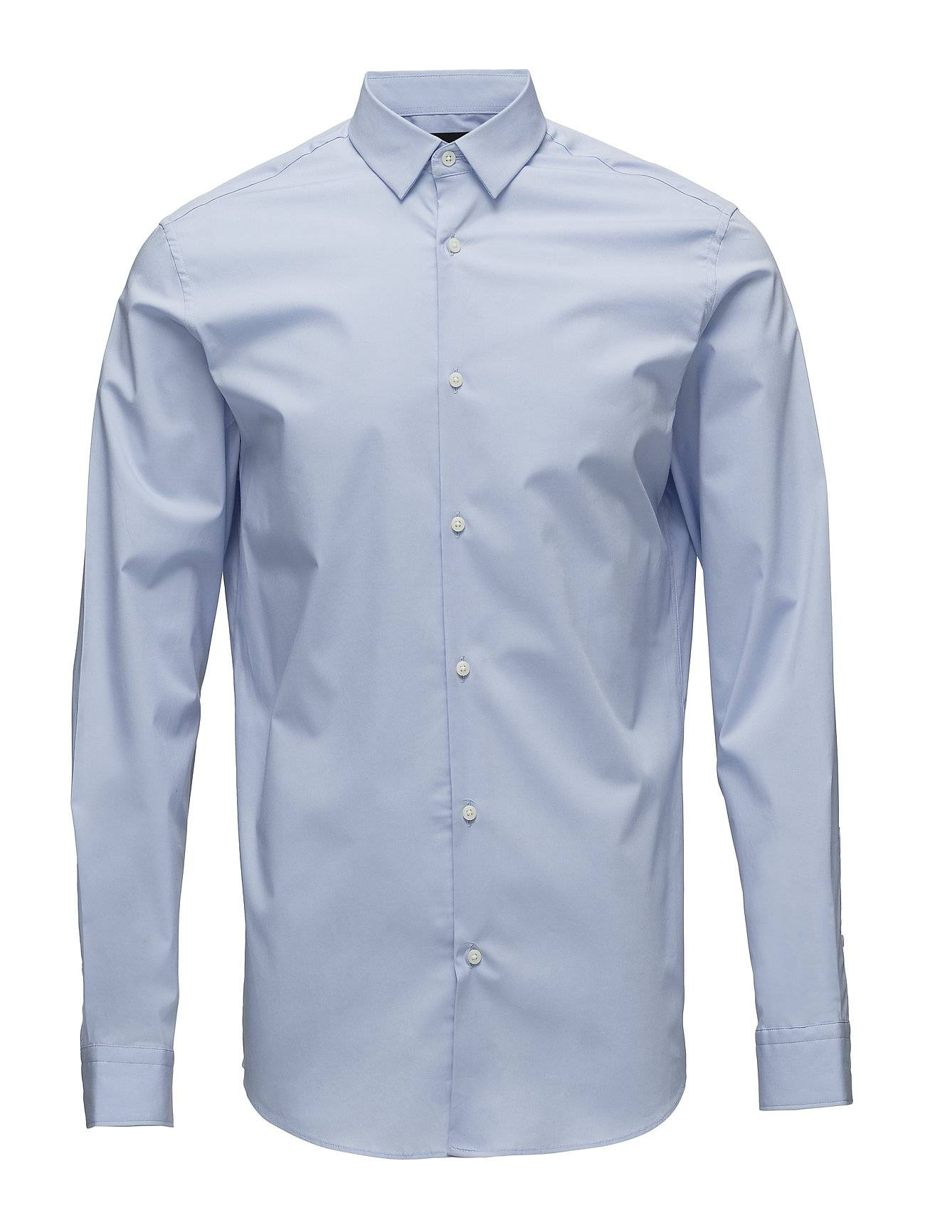 Selected Homme Slhslimpreston-Clean Shirt Ls B Noos