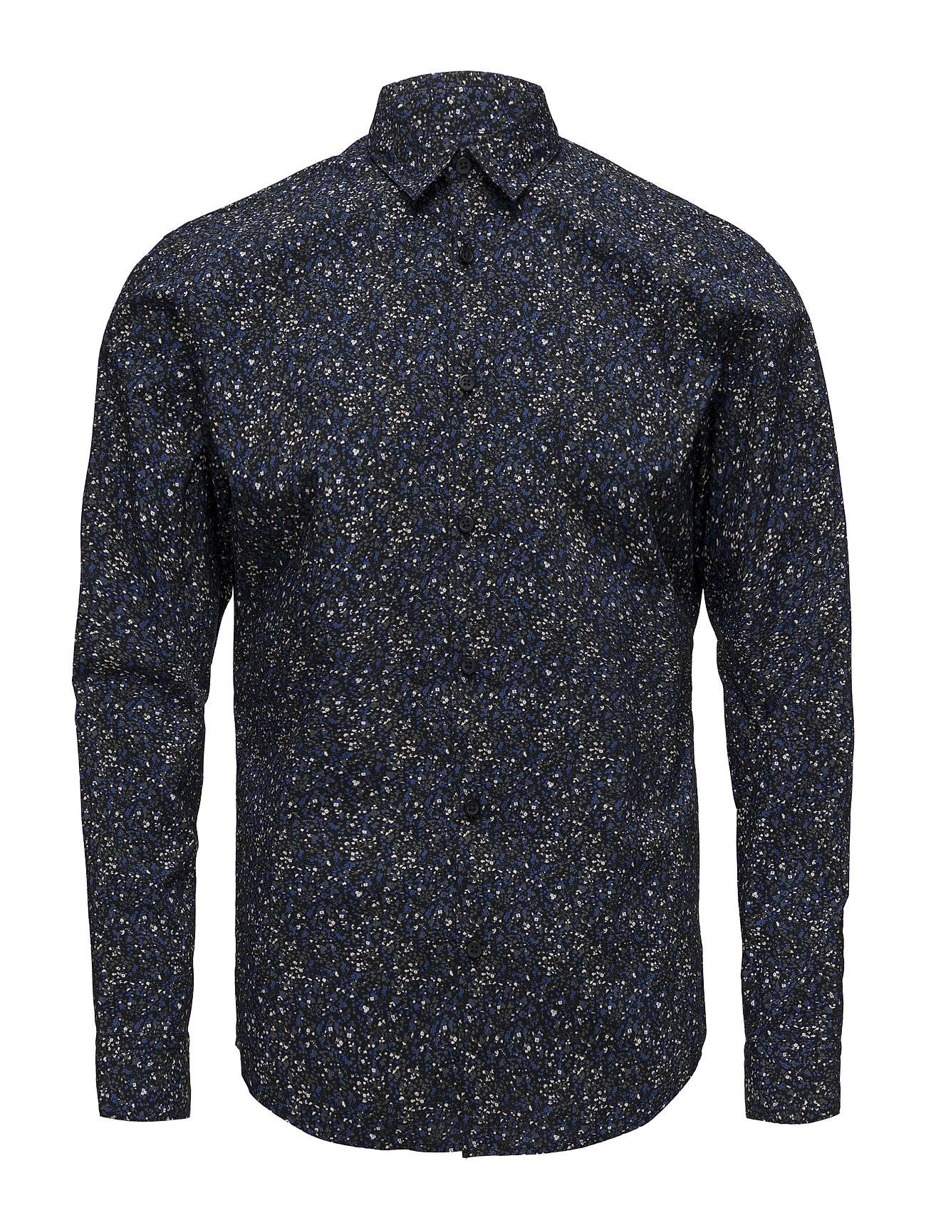 Selected Homme Slhslimiron Shirt Ls Aop B