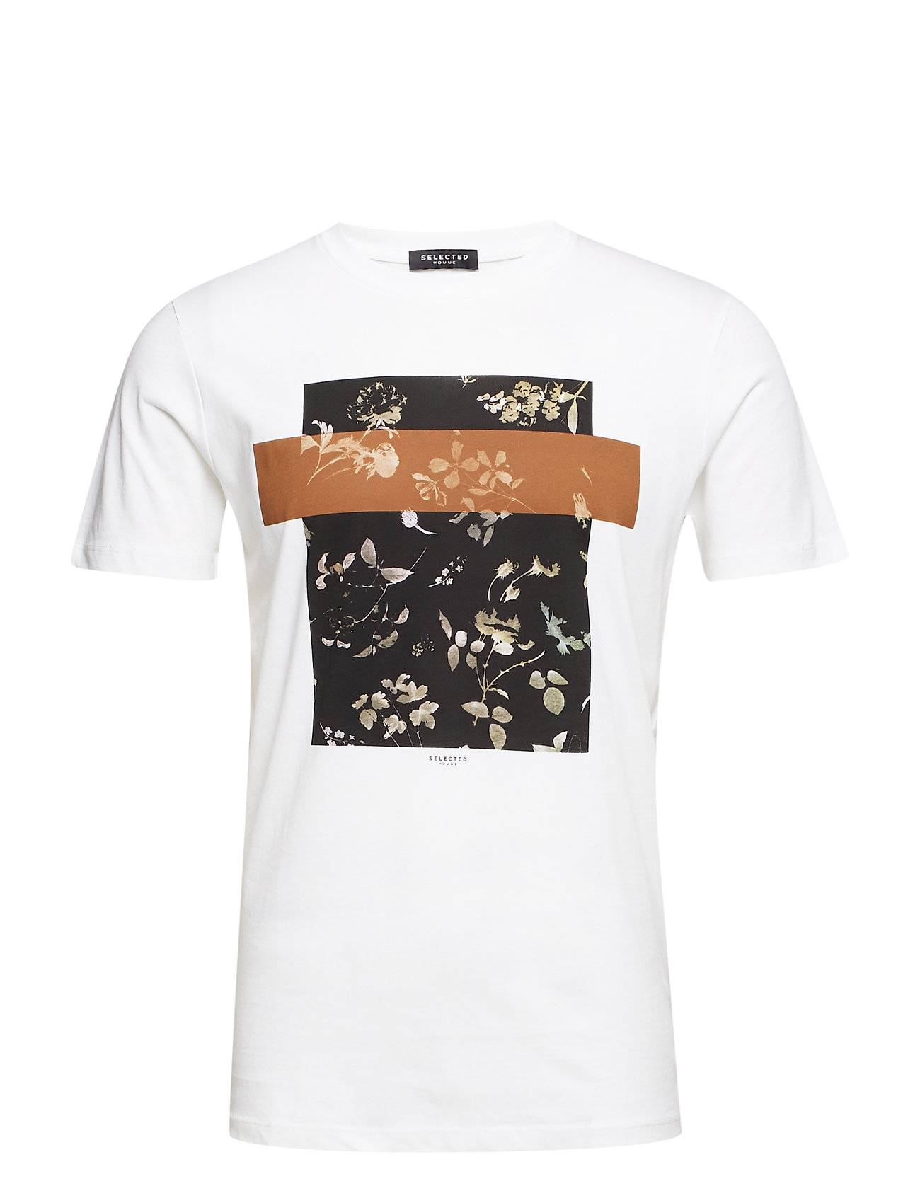 Selected Homme Slhruben Ss O-Neck Tee B