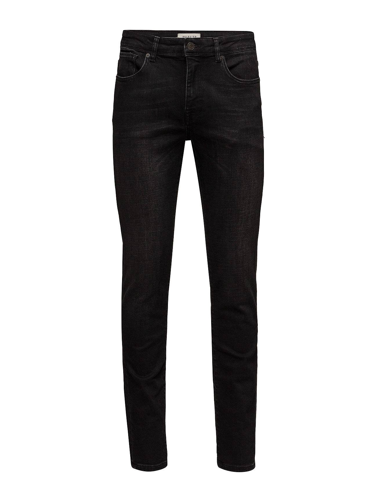 Selected Homme Slhslim-Leon 6138 Wash Black St W Noos